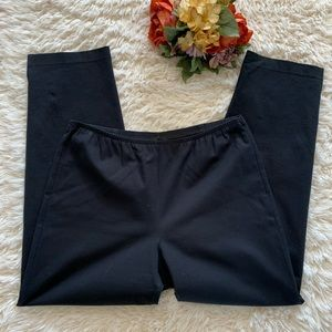 Eileen Fisher Small Cotton Spandex Pants Small